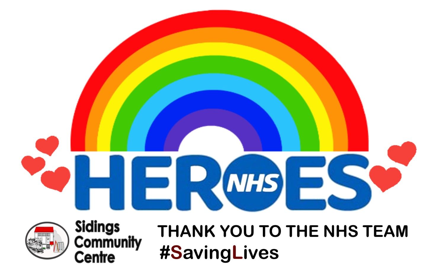 NHS Rainbow poster A6